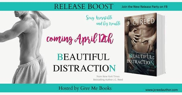 Release Boost for Beautiful Distraction by J.C. Reed