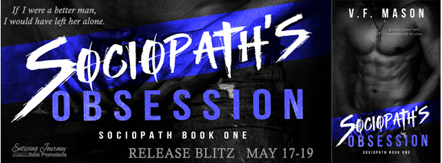 Sociopath's Obsession by VF Mason - Release Blitz
