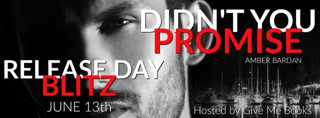 Release Blitz for Didn't You Promise by Amber Bardan