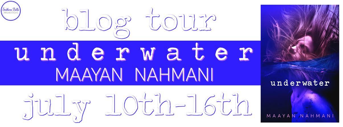 Maayan Nahmani - Underwater - Blog Tour