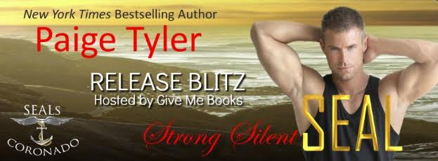 Release Blitz for Strong Silent SEAL by Paige Tyler