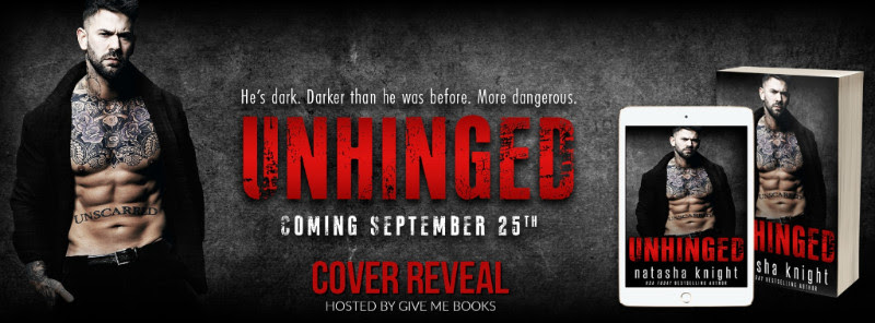 COVER REVEAL Aug 31 - Unhinged by Natasha Knight