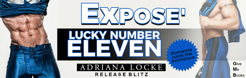 Hot New Release -Sept 8- Lucky Number Eleven by Adriana Locke