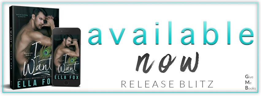 Hot New Release -Sept 8- I Want (Enamorado #2) by Ella Fox