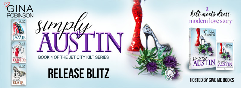 Hot New Release -Sept 15- Simply Austin by Gina Robinson