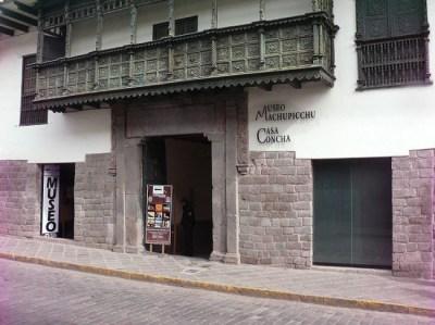 El entrada al museo