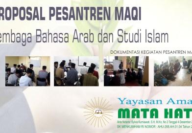 Proposal Tamhidul Lughah Al-Arabiyyah 2020/2021