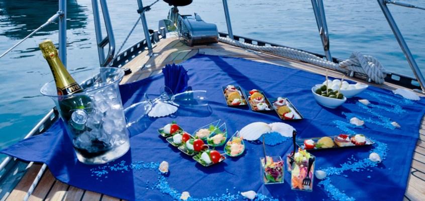 Escursione in barca con aperitivo