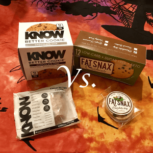 KNOW Better Cookies vs. Fat Snax Keto Cookies