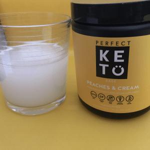 Perfect Keto Base Peaches and Cream