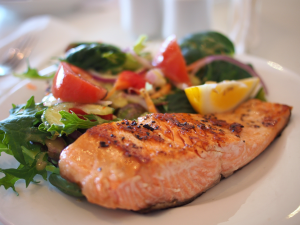 Is salmon a high fat fish?