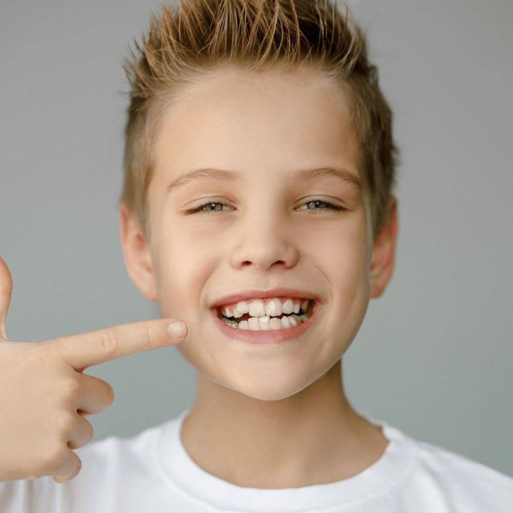 Guy Showing his teeth