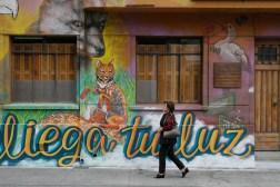 Fragmento de mural colectivo - Fundación Liwenko