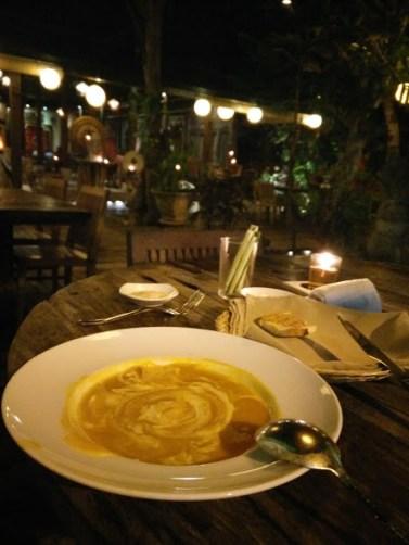Pumpkin Soup - Bali