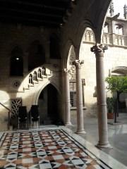 Casa relacionada ao governo no bairro gótico