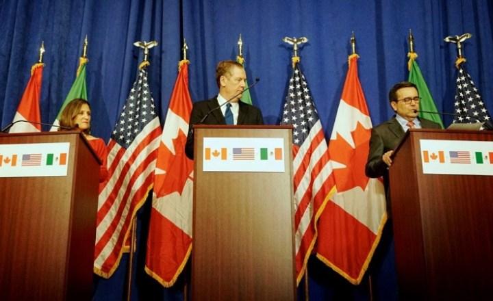 カナダのNAFTA交渉延期でメキシコペソも下落