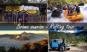 paket wisata bromo rafting songa tour