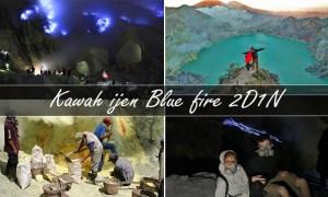 paket wisata kawah ijen blue fire