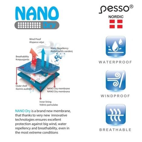Nano dry mebrane: waterproof, windproof & breathable pessosafety.eu