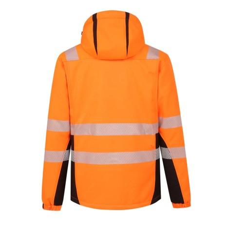 Winter Softshell Jacket Pesso Calgary Orange En20471 Class 2 pessosafety.eu