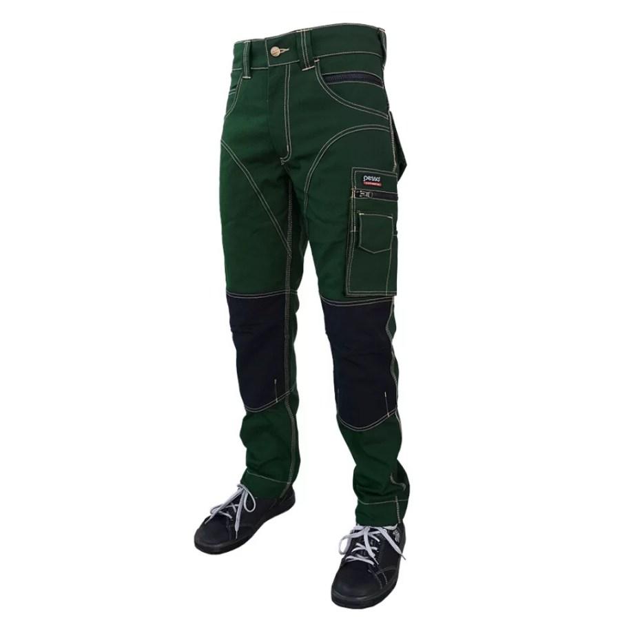 Worwear trousers Pesso KDCZ, green pessosafety.eu