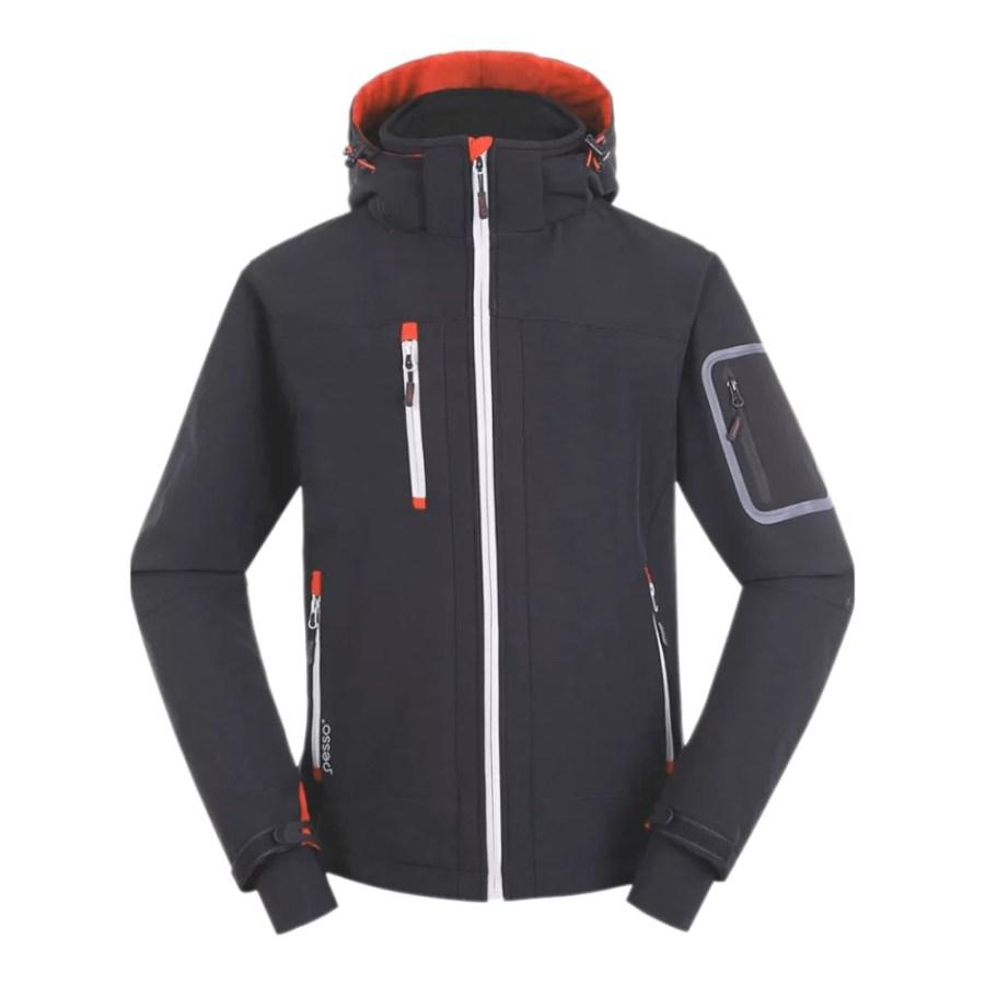 Softshell Jacket Pesso Acropolis, grey pessosafety.eu