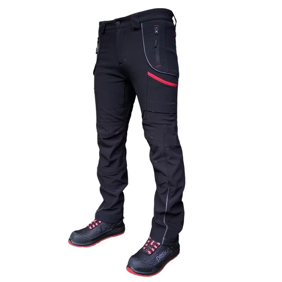 Softshell Pants Pesso Nordic Nebraska, black | pessosafety.eu