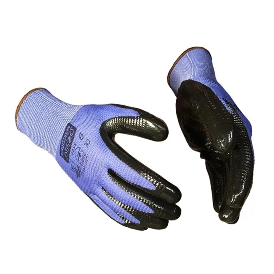 Working gloves semi-dipped in nitrile Pesso Grip pessosafety.eu