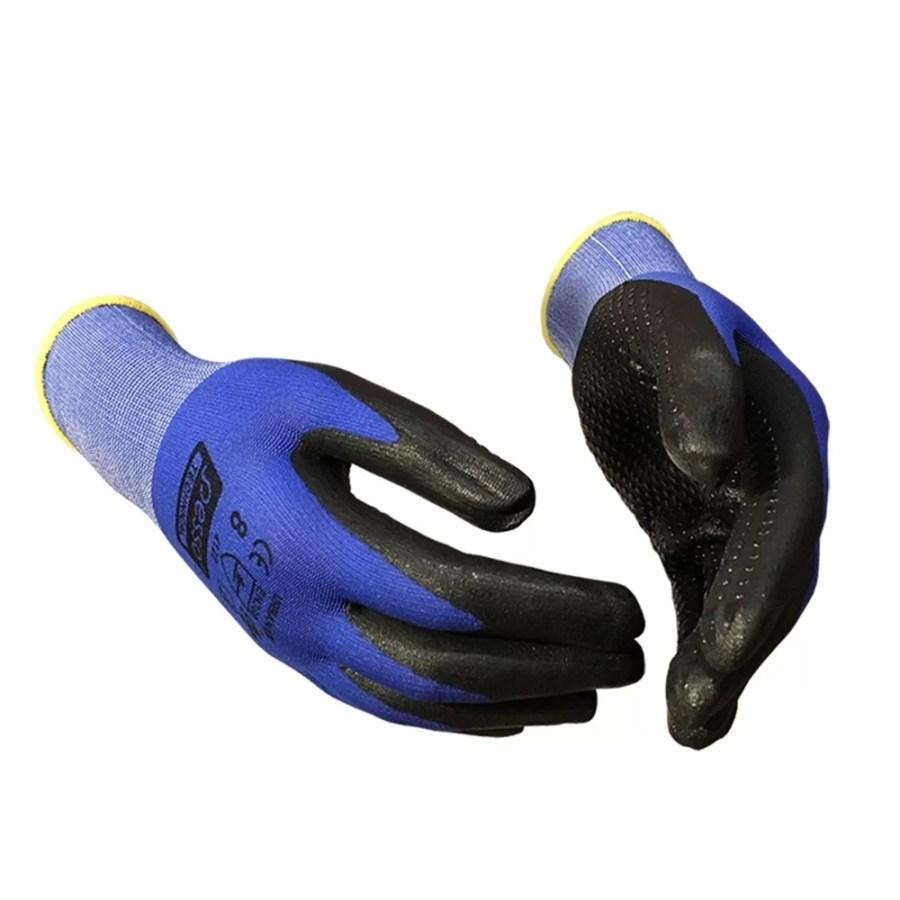 Working gloves semi-dipped in PU & Microfoam Pesso Urbam¡n pessosafety.eu