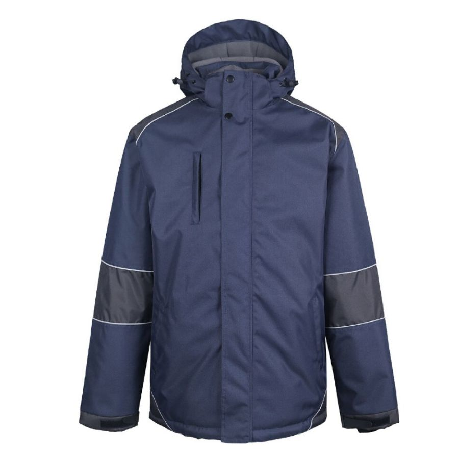 Water - repellent winter jacket Pesso Arcika, navy pessosafety.eu