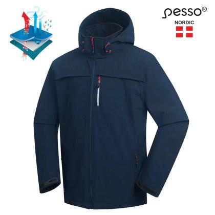 Softshell Jacket Pesso ATLANTA, navy pessosafety.eu