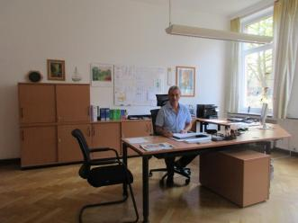 Das Büro des Schulleiters