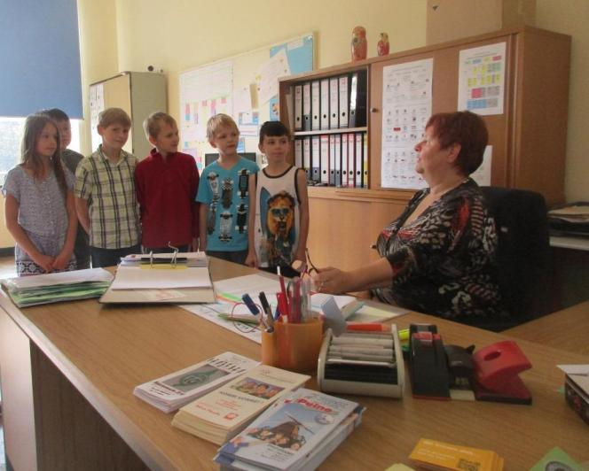 Das Büro der Schulsozialarbeiterin