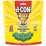 D-Con Refillable Corner Fit Mouse Poison Bait Station
