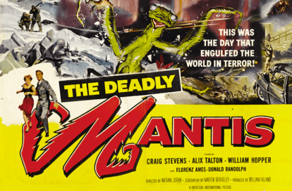Still From Deadly Mantis Movies