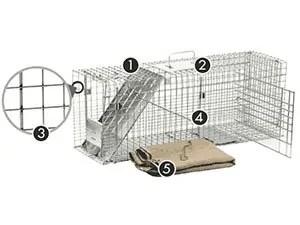 5-pics trapping kit
