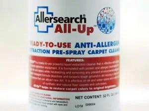 Anti-Allergen Carpet Pre Spray - Alersearch All-Up