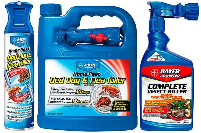 Bayer Advanced Bed Bugs Products