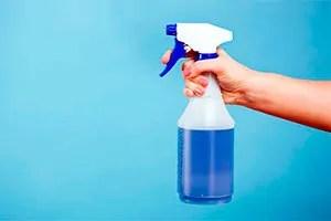 Bleach spray