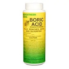 Boric acid to kill termites