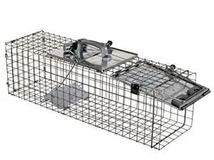 Traditional one door rabbit trap