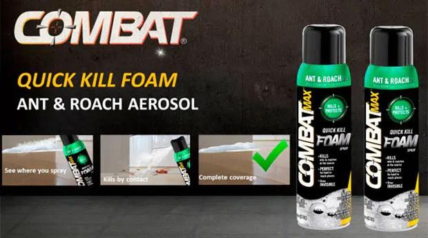 Combat Ant & Roach Aerosol