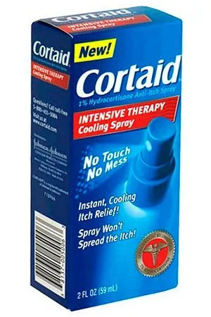 Cortaid spray
