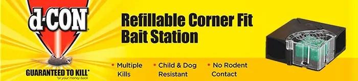 d-Con bait station banner