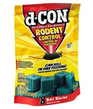 d-CON bait blocks