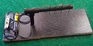 DIY electronic mouse trap