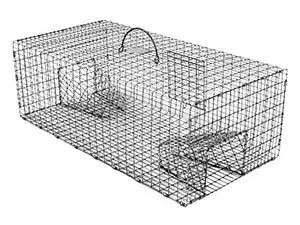Tomahawk's double door pigeon trap