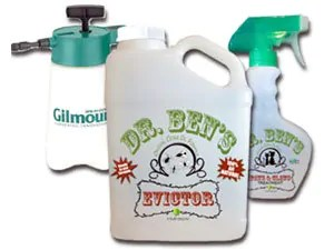 Dr. Ben's Evictor natural mite killer products