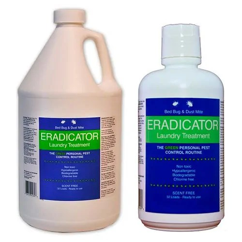 Bed bug & Dust mite Eradicator Laundry Treatment