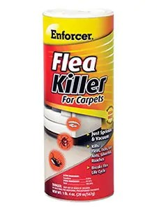 Flea Killer for Carpets by Enforcer